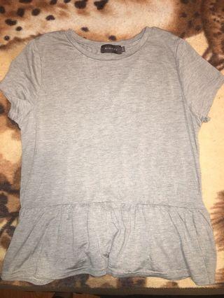 Medium grey top
