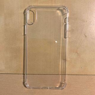🚚 iphone xr transparent casing with bumper