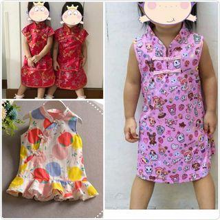 CNY Baby Cheongsum / Baby Cheongsam / Tokidoki Dress / Donutella Dress