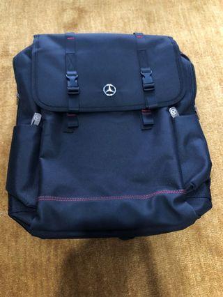 BN authentic Mercedes black bagpack