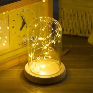 Fairy Light Glass Jar