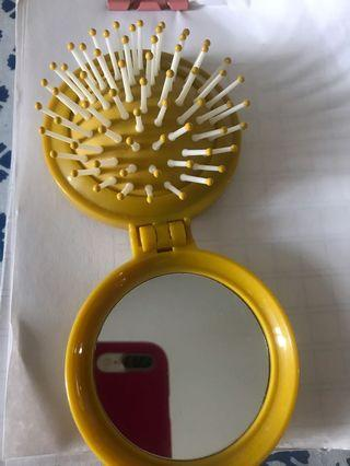 Mirror and comb