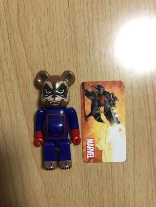 Bearbrick Marvel 100% 開封