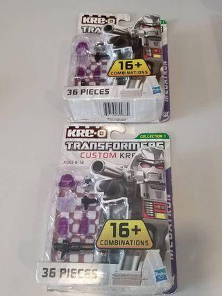New Transformers Kre-O Megatron Kreon Collection 1 Combinations hasbro 36 Pieces
