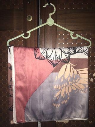 Jilbab Segiempat Motif lavender