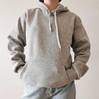Thick Grey Hoodie