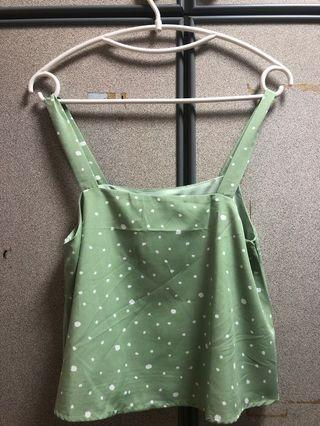 TTR polka dots green in size M (new) at $15