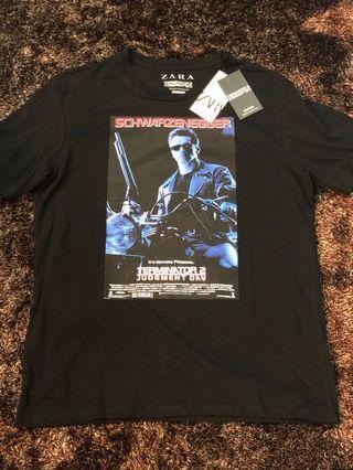 Zara Terminator 2 Judgment Day Tee