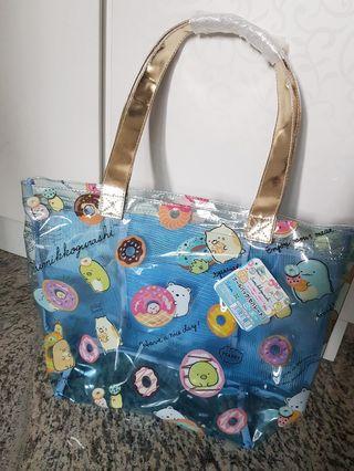 🚚 BNWT Sumikko Gurashi Blue Tote Bag