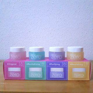 BANILA CO CLEAN IT ZERO SPECIAL KIT SET (4 MINIATURES @ 7ML EACH) *PRICE FOR 1 SET*