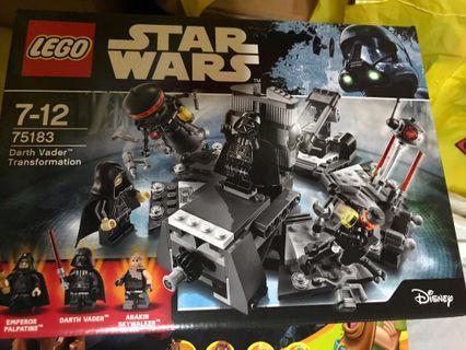 🚚 BN Lego Star Wars 75183