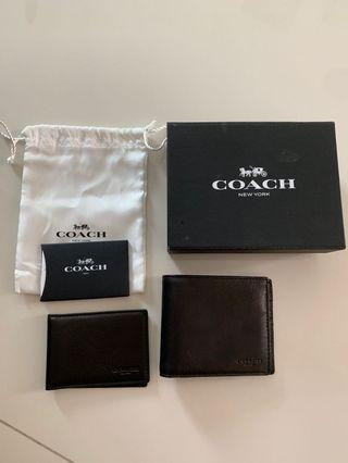 🚚 Coach wallet bi fold