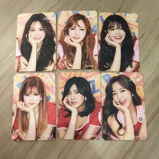 🚚 Apink Pink Up Cafe Event Limited Edition Photocard