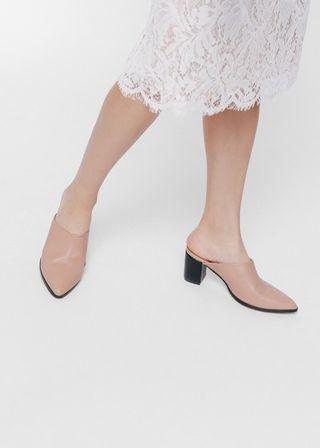 Love bonito Moaja Pointed Heeled Mules