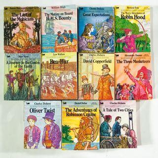 🚚 Moby Books Illustrated Classic Editions