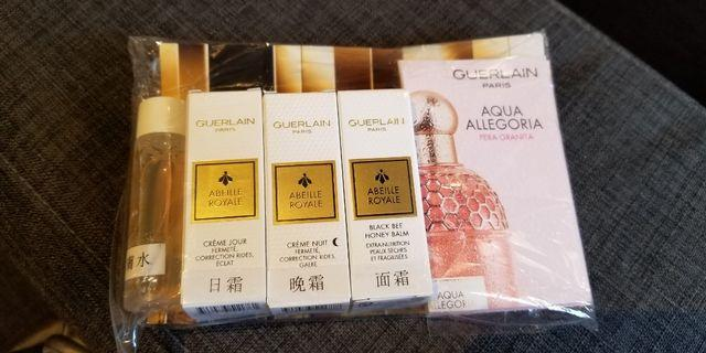 Guerlain sample set