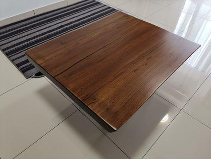 Coffee table - Walnut slab wood