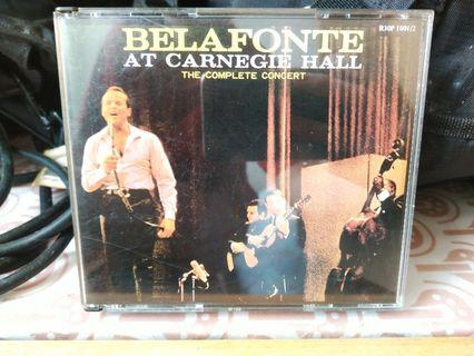 Belafonte at Catnegie Hall (The complete Concert)
