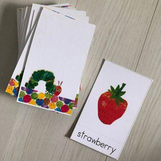🚚 Eric Carle home made matching cards
