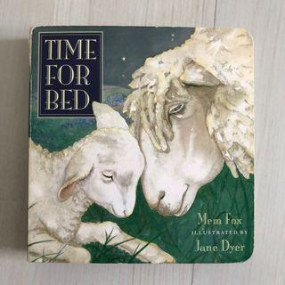 🚚 Time for Bed by Mem Fox