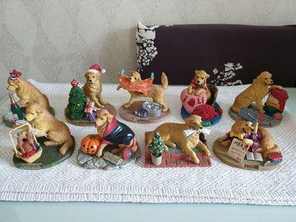 Dog Figurines - Golden Charm (House of Collectibles)
