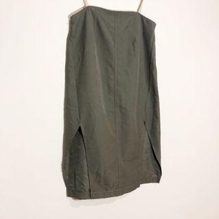 (8) Maurie & Eve Double Slit Midi Skirt