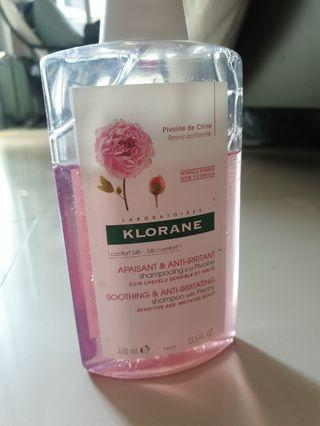 Klorane soothing anti irritating peony shampoo