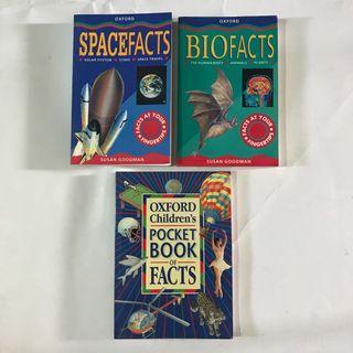 🚚 3 x Oxford Fact Books for Children