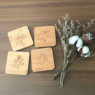 BN Wood Coasters (Set)