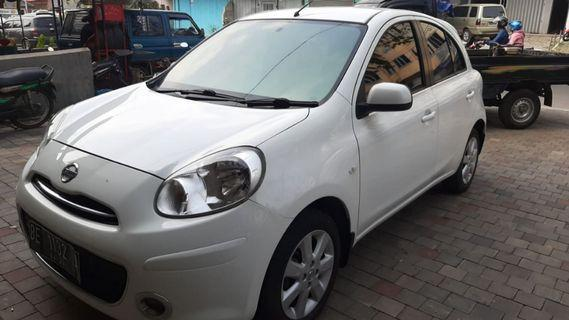 Nissan march 2012 A/T Km98.000 plat BE
