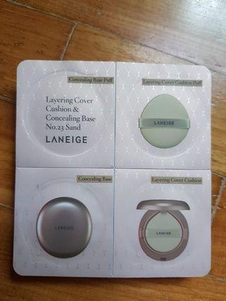 Laneige Layering Cover Cushion & Concealing Base (No. 23 Sand)