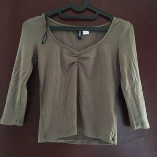 H&M Army Top