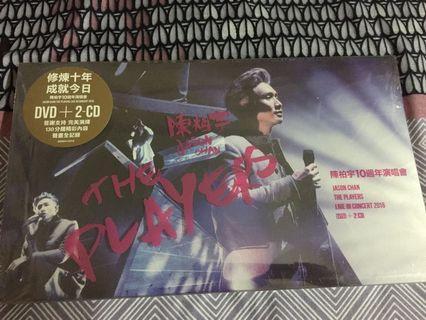全新陳柏宇10週年演唱會DVD+2CD