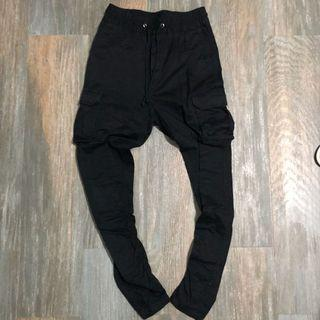 H&M slim Carrot pants fear of god off white