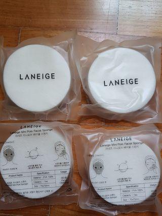 🚚 Laneige Mini Pore Facial Sponge