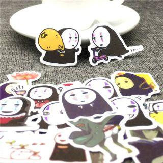 [ PO ] No-Face Sticker Flakes