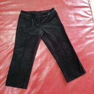Mango black denim jeans pants maong