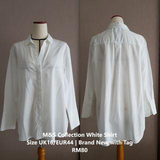 M&S Collection White Shirt