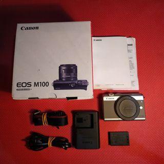 Body Mirrorless Canon EOS M100 Grey