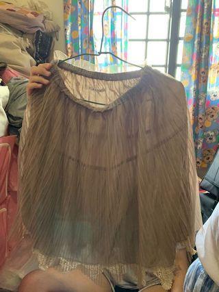 🚚 T-parts紗裙