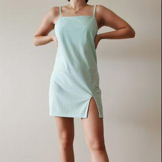 Skyblue Mini Dress