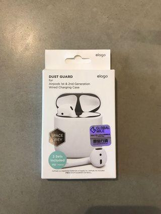 AirPods case dust guard-elago