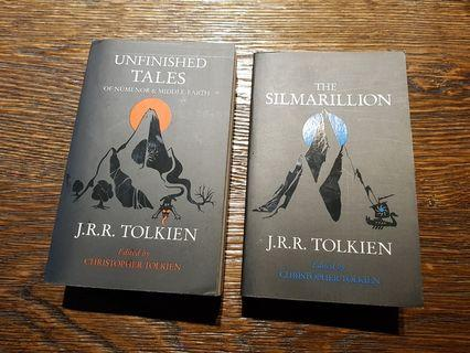 🚚 Books Unfinished Tales The Silmarillion by J.R.R.Tolkien