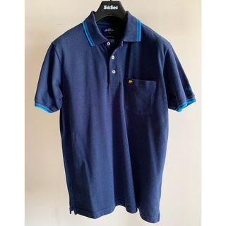 Jack Nicklaus Polo Shirt Dark Blue Size M