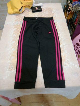 Adidas 運動褲 sport wear, running, yoga, authentic sport trousers.