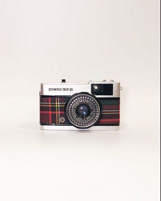 Olympus Trip 35 (tartan) 35mm Film Camera
