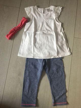 Brand New H&M Baby Outfit 12-18m