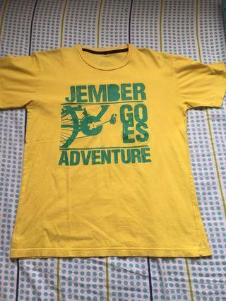 Basic Yellow Men T-Shirt