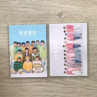 wts seventeen haru tour japan trading cards