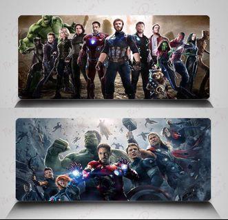 🚚 MARVEL Avengers Superhero Table Mat / Gaming Mousepad /